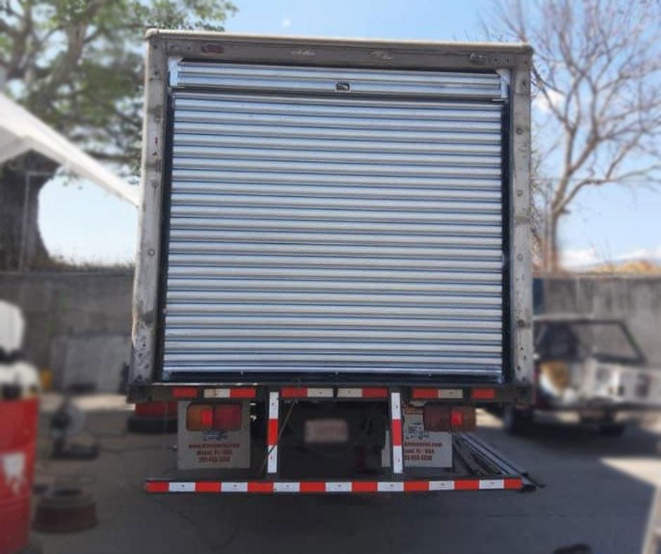 cortina metalica para camion